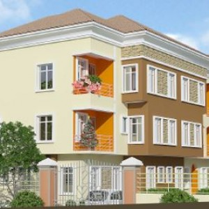 2 300x300 4 units, of 4 Bedroom and BQ residential apartment