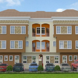4 300x300 4 units, of 4 Bedroom and BQ residential apartment